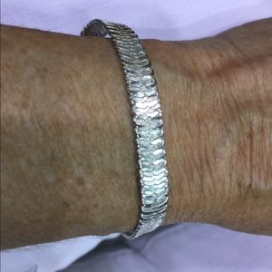 Napier silver bracelet